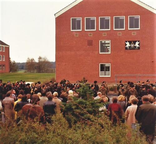 1980 03 tm 12 B esk 3e pel. 103 Verkbat Ouderweekend okt 1980 Inz. knt Kees C.M. Blom