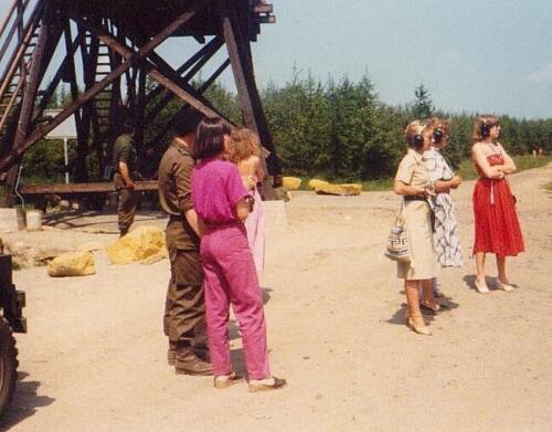 1980 04 22 103 Verkbat Damesschietdag Mevr Nix Eleveld Attema en Kuijpers.