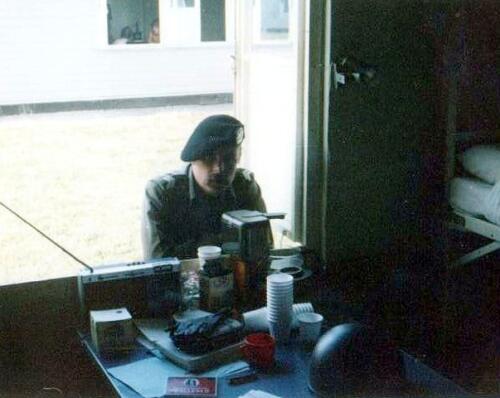 1980 09 09 SSV Esk 103 Verkbat Schietserie Kamp Horsten Opper Jan Willem Bergman