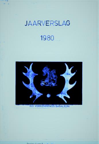 1980 103 Verkbat Jaarverslag 1980 opgemaakt door S 1 Ritm Tom Zoomers 1