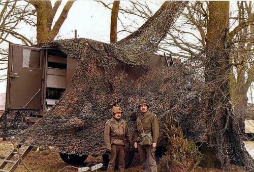 1980-11-15 SSV-Esk 103 Verkbat; Oefening, Oppers S3 Toeg J W Bergman en S 1 Toeg Hans Kuijpers op oefening