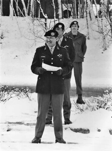 1980-1981 Bernhardkazerne Amersfoort; Co overdracht Ritm DCGM Alexander aan Ritm HAG Nix