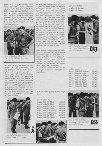 1980 1981 103 Verkbat Owi Ouwehand neemt de Generaal Gitz beker in ontvangst