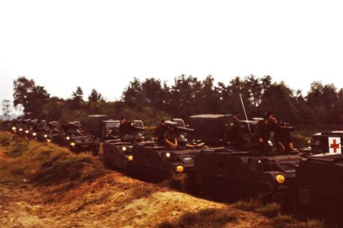 1980 1981 A Esk 103 Verkbat 11. Schieten varen oefening en ouderweekend. Inzender Wmr Arthur Vuijk