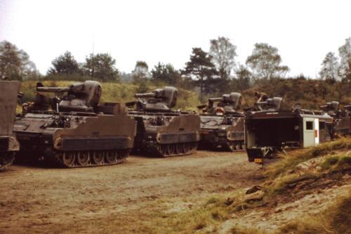 1980 1981 A Esk 103 Verkbat 12. Schieten varen oefening en ouderweekend. Inzender Wmr Arthur Vuijk