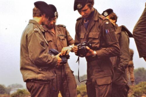 1980 1981 A Esk 103 Verkbat 18. Schieten varen oefening en ouderweekend. Inzender Wmr Arthur Vuijk