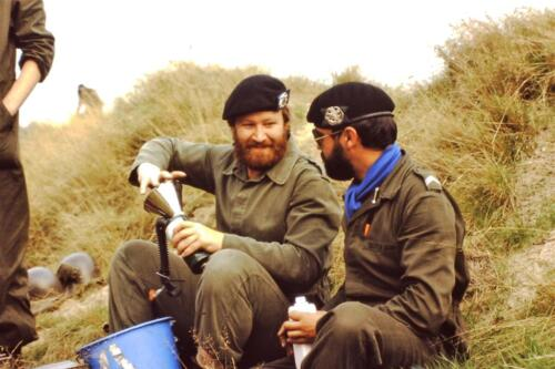 1980 1981 A Esk 103 Verkbat 21. Schieten varen oefening en ouderweekend. Inzender Wmr Arthur Vuijk