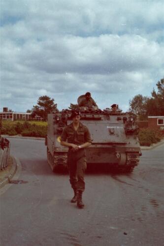 1980 1981 A Esk 103 Verkbat 25. Schieten varen oefening en ouderweekend. Inzender Wmr Arthur Vuijk