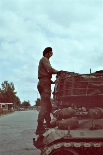 1980 1981 A Esk 103 Verkbat 26. Schieten varen oefening en ouderweekend. Inzender Wmr Arthur Vuijk