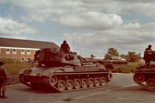 1980 1981 A Esk 103 Verkbat 27. Schieten varen oefening en ouderweekend. Inzender Wmr Arthur Vuijk