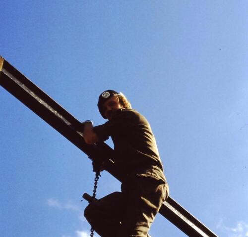 1980 1981 A Esk 103 Verkbat 28. Schieten varen oefening en ouderweekend. Inzender Wmr Arthur Vuijk