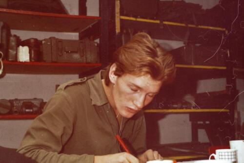 1980 1981 A Esk 103 Verkbat 32. Schieten varen oefening en ouderweekend. Inzender Wmr Arthur Vuijk