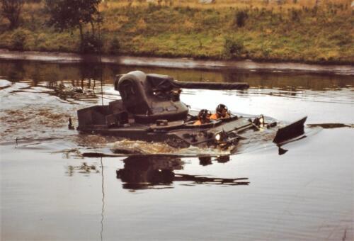 1980 1981 A Esk 103 Verkbat 6. Schieten varen oefening en ouderweekend. Inzender Wmr Arthur Vuijk