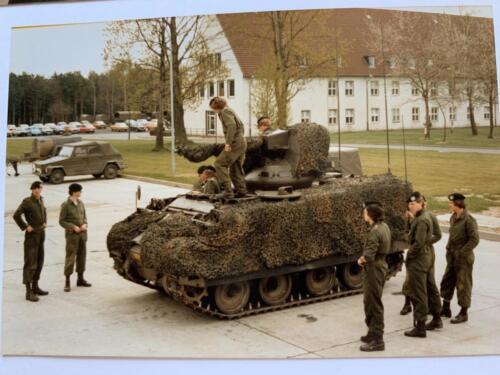 1980 A Esk 103 Verkbat 3 Boeselager Hannover met M113 CR