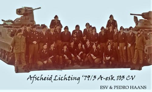 1980 A Esk 103 Verkbat Lt Beekman Wmrs Vieane en Haans. Inz. Edu Vieane