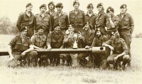 1980 A Esk 2e Pel 103 Verkbat Bergen Hohne. Opc Wmr I J vd Berg en Ruud de Lange