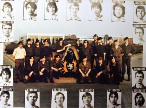 1980 SSV Esk 103 Verkbat Links Owi Fons Tuerlings en staand 4e v re Ritm Jos de Klippelaar.
