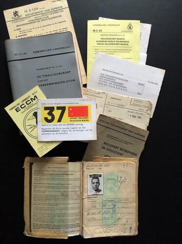 1981 103 Verkbat Verzameling IK Vsn en Paspoort van Wmr vd Lust