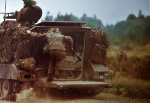 1981 1983 SSV Esk 103 Verkbat Plv C Elnt en inz. Jan Cremers als Hoofd Schietinstr. 3