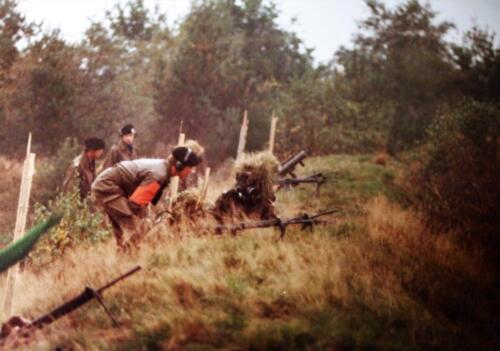 1981 1983 SSV Esk 103 Verkbat Plv C Elnt en inz. Jan Cremers als Hoofd Schietinstr. 4