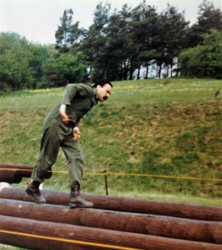 1981 A Esk 103 Verkbat Boeselager wedstrijden De training en uitvoering Inz. Pedro Haans 1