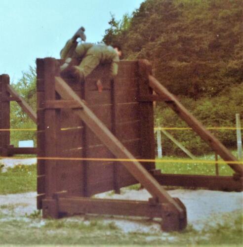 1981 A Esk 103 Verkbat Boeselager wedstrijden De training en uitvoering Inz. Pedro Haans 2