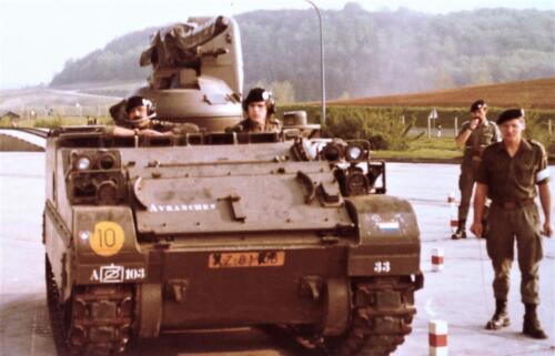 1981 A Esk 103 Verkbat Deelname Boeselager Stuurmanskunst CR Inz Pedro Haans 3
