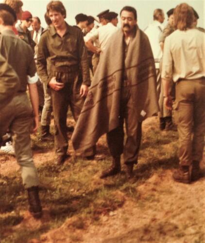1981 A Esk 103 Verkbat Deelname Boeselager. Gereedmaken en afzien... Inz. Pedro Haans 2