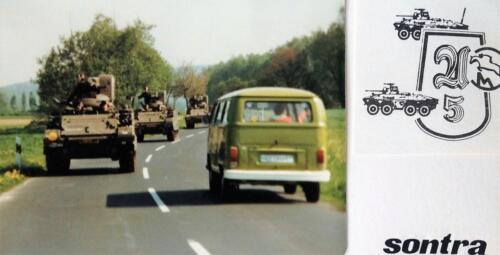 1981 A Esk 103 Verkbat Deelname Boeselager. Op weg naar Sontra Inz. Pedro Haans 1