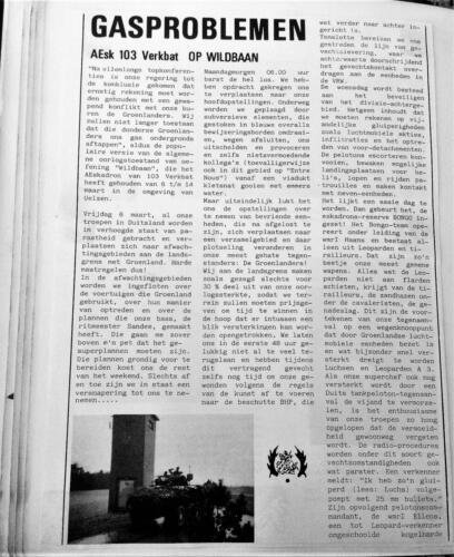 1981 A Esk 103 Verkbat Oef Wildbaan Verslag. Inz. Pedro Haans 1