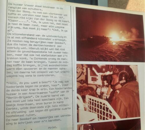 1981 A esk 103 Verkbat Schietserie Een verslag. Inz Pedro Haans 2