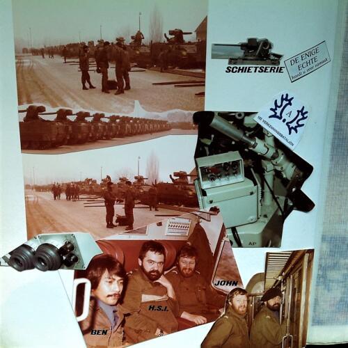 1981 A-Esk 103 Verkbat de 3 OPC'n; Wmrs I Polak 1e, Haans 2e en Mullers 3e pel. EC Ritm Sandee