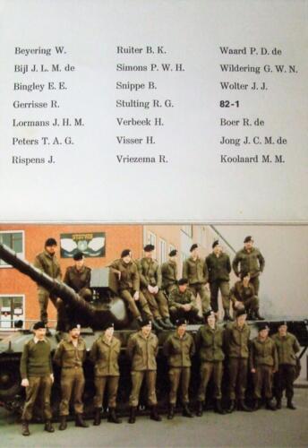 1982 1983 SSV Esk 103 Verkbat. Links Ritm Jos de Klippelaar en Owi Frits v Swelm Inz. jan Cremers
