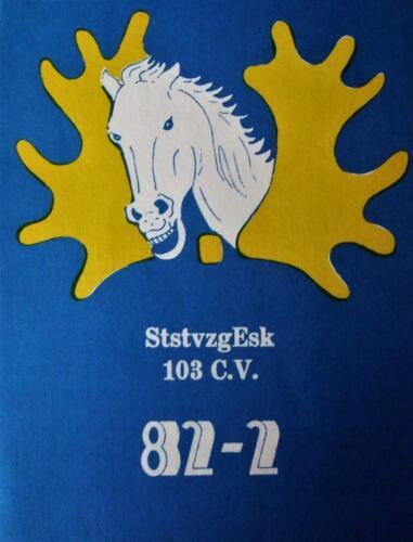 1982 SSV Esk 103 Verkbat De eigen Trakehner lichting 82 2