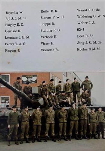 1982 SSV Esk 103 Verkbat EC Ritm Jos de Klippelaar Owi Frits v Swelm en re Elnt Jan Cremers