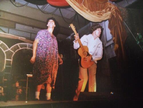 1982 SSV Esk 103 Verkbat Ouderweekend Avondvullend programma Gitarist en inzender Jan Cremers