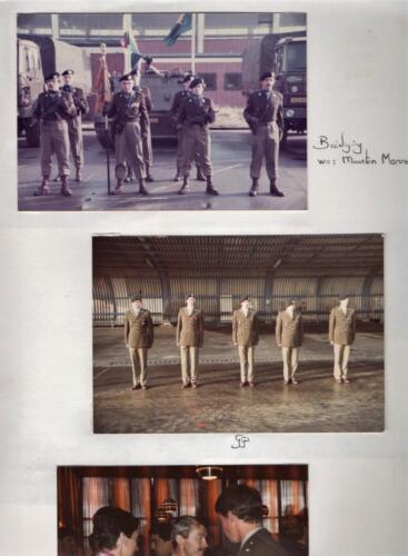 1983 06 18 103 Verkbat Beedigigen 4 offn o.a. Tlnt Monne.Fotoboek van de Maj PBC R Meeder 1