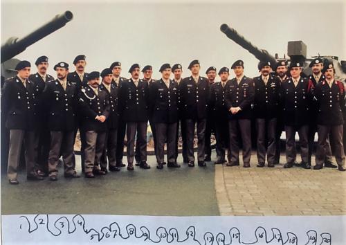 1983 12 SSV 103 Verkbat Overzicht Bataljons staf Inz. Edu Vieane 1
