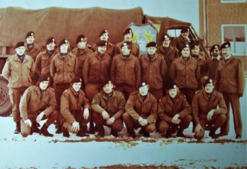 1983 1982 SSV Esk 103 Verkbat o.a. Elnt Cremers Ritm de Klippelaar en Sgt I Tops Inz Jan Cremers