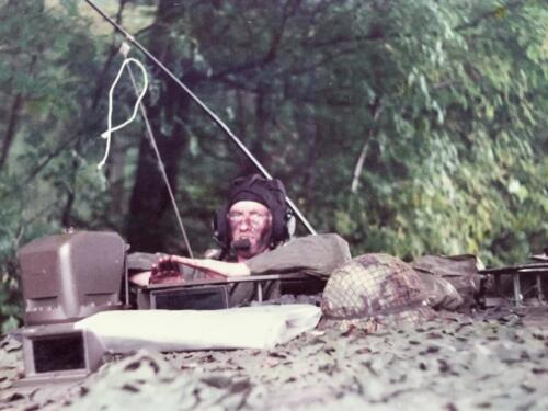 1983 1984 A Esk 103 Verkbat Actie actie harde actie Lichting 83 5 Foto Nicky van Nimwegen 3