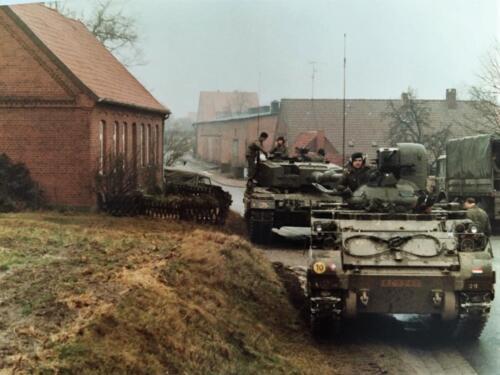 1983 1984 A Esk 103 Verkbat Opnamen oefening. Lichting 83 5 Foto Nicky van Nimwegen 1