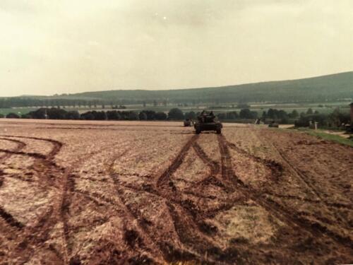 1983 1984 A Esk 103 Verkbat Opnamen oefening. Lichting 83 5 Foto Nicky van Nimwegen 11