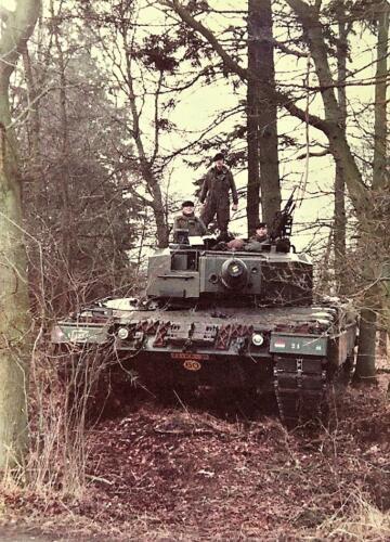 1983 1984 A Esk 103 Verkbat Opnamen oefening. Lichting 83 5 Foto Nicky van Nimwegen 12
