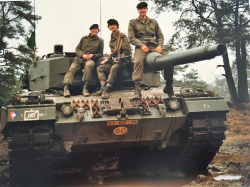 1983 1984 A Esk 103 Verkbat Opnamen oefening. Lichting 83 5 Foto Nicky van Nimwegen 13