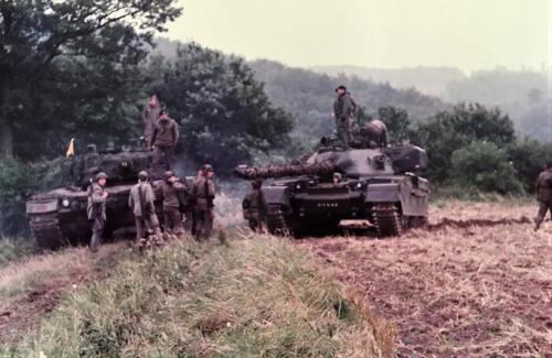 1983 1984 A Esk 103 Verkbat Opnamen oefening. Lichting 83 5 Foto Nicky van Nimwegen 4