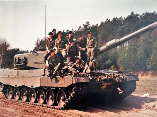 1983 1984 A Esk 103 Verkbat Opnamen oefening. Lichting 83 5 Foto Nicky van Nimwegen 5