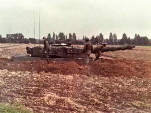 1983 1984 A Esk 103 Verkbat Opnamen oefening. Lichting 83 5 Foto Nicky van Nimwegen 7