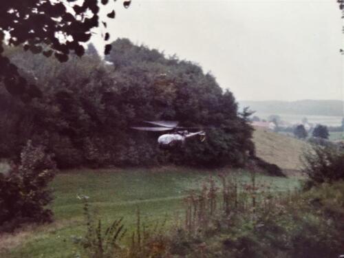 1983 1984 A Esk 103 Verkbat Opnamen oefening. Lichting 83 5 Foto Nicky van Nimwegen 8