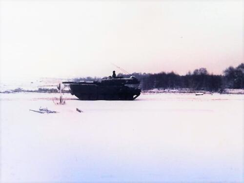 1983 1984 A esk 103 Verkbat EC Ritm vd Aker. Oefeningen en schietseries. Inz. Paul VdF Mulder 1