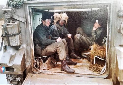 1983 1984 A esk 103 Verkbat EC Ritm vd Aker. Oefeningen en schietseries. Inz. Paul VdF Mulder 12